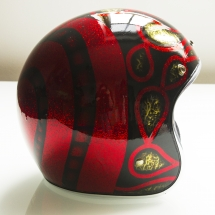 PBC red and black gold